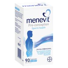 MENEVIT Pre-conception Sperm Health 90 Capsules Male Fertility Supplement