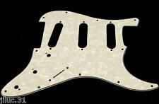 NEW PICKGUARD STRATOCASTER SSS pearl aged white 3 ply pour Fender ou autre strat