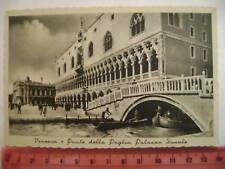 Cartolina Veneto - Venezia Ponte della Paglia - VE 3676