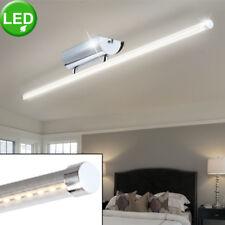 Design LED Lampe Wohn Schlaf Zimmer leuchte Beleuchtung Diele Büro Chrom Alu