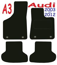 Audi a3 Tailored car mats ** Deluxe Quality ** 2012 2011 2010 2009 2008 2007 200