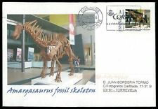 Spain dinosaur 2017 dinosaure dinosaurios Custom Stamp-only 5 cover made! cm44