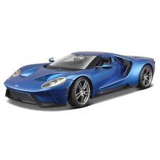 Modellini statici auto sportive Blu Scala 1:18
