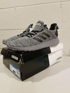 NIB Adidas Mens Lite Racer Byd Gray Running Shoes Size 10.5