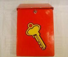 VINTAGE KEY DROP BOX - WITH KEY!!!!
