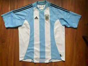 ARGENTINA FOOTBALL SHIRT 2002-2004 NATIONAL TEAM ORIGINAL JERSEY SIZE XL