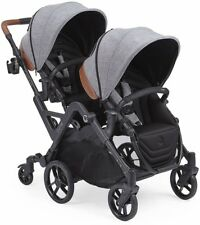 Contours Curve Double Tandem Stroller in Graphite Gray Brand New! Free Shipping!