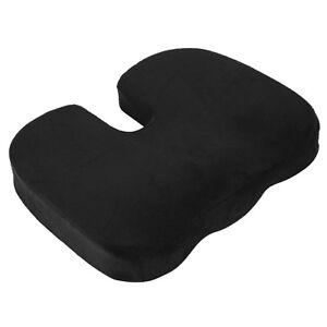 Memory Foam Orthopädische Auto-Büro-Sitzstuhl-Kissen Pain Relief Kissen ^