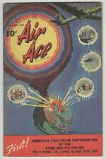 Air Ace Vol 3 #2 March 1946 VG/FN Atomic Explosion cover