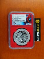 2017 PROOF SILVER SPIDERMAN NGC PF70 MERCANTI FIRST RELEASES COOK ISLANDS 1 OZ