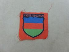 WW2 ASERBAIDSCHAN Ärmelabzeichen BEVO Abzeichen Elite XX Freiwilligen Division
