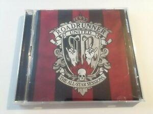 ROADRUNNER UNITED - THE ALL-STAR SESSIONS CD + DVD 2005 SLIPKNOT FEAR FACTORY
