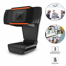 1080p Webcam Auto Focusing Web Camera HD Cam w/ Microphone For PC Laptop Desktop