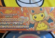 Japanese Pokemon TCG Mega Charizard Y Pikachu Poncho Cosplay XY Box SEALED NIB