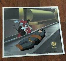 Batman the Animated Series Production Cel Harley Quinn Catwoman Animation 2 Cels