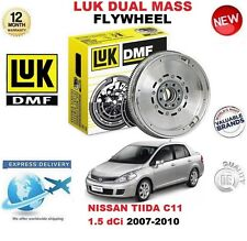 FOR NISSAN TIIDA C11 1.5 dCi 2007-2010 ORIGINAL LUK DMF DUAL MASS FLYWHEEL