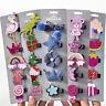 Glitter Paillette Cute Bowknot Girls Kids Hair Clips Cartoon Pins Barrette 5PCS