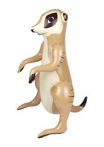 59cm Blow Up Meerkat Inflatable Toy Fancy Jungle Party Decoration Accessory