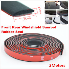 3M Car Windshield Sealant Rubber Sunroof Triangular Window Sealing Sealed Strips