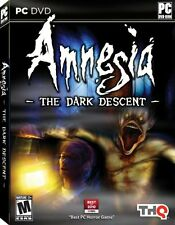 Amnesia The Dark Descent PC DVD Game Horror 2011 Brand New