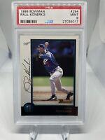 1998 Bowman Paul Konerko #294 PSA 9 Hall Of Fame HOF? LA Dodgers 🔥🔥🔥