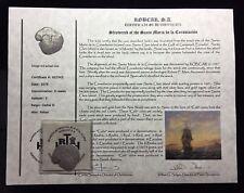 1679  8 REALES SILVER THE SANTA MARIA DE LA CONSOLACION SHIPWRECK  RECOVERY (B)