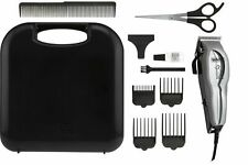 Heavy Duty Pet Hair Clipper Grooming Kit Thick Fur Removal Corded Wahl