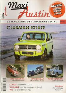 MAXI AUSTIN 10 MINI MKII ROVER MINI COOPER MINI CLUBMAN ESTATE MINI F2000 11