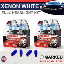 C Class W204 07-14 Xenon White Upgrade Kit Headlight Dipped High Side Bulbs