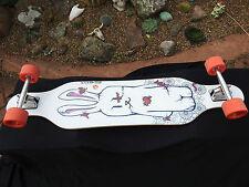 "Koston Longboard ""Bad Bunnie"" skateboard Street Freeride & Downhill 41""x 9.5"