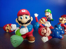 lot de 6 figurines SUPER MARIO BROS applause kellogg's NINTENDO luigi
