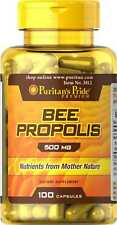Bee Propolis 500 mg x 100 Rapid Release Capsules Puritan Pride* AMAZING PRICE *