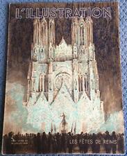 L ILLUSTRATION 16 juillet 1938 LES FETES DE REIMS