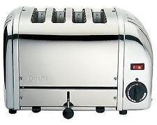 Dualit 40352 Classic Vario 4 Slot Toaster Polished Stainless Steel Silver
