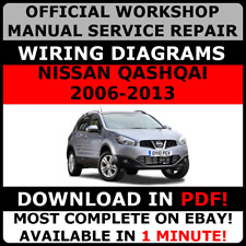 # OFFICIAL WORKSHOP Service Repair MANUAL FOR NISSAN QASHQAI 2006-2013 WIRING