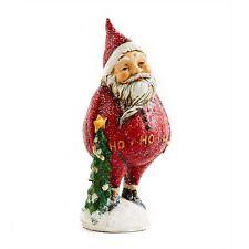 6 Inch Santa holding Tree by KK Interiors, Inc #51833B
