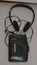 Sony Walkman Am/Fm Cassette Wm-Fx21 Portable Cassette Player