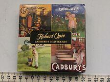 CADBURY'S DIARY MILK CHOCOLATE old victorian picture ROBERT OPIE COASTER SET BNI