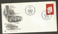 UNITED NATIONS - GENEVA -1970  DEFINITIVE -  FIRST DAY COVER.