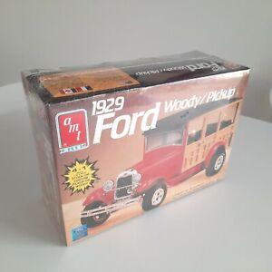 1929 Ford Woody / Pickup Truck AMT Ertl 1:25 Model Kit 38592 NEW & UNUSED