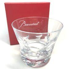 UNUSED BACCARAT Beluga Tumbler Rock Glass Crystal Glass Clear
