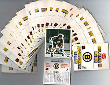 1981-82 Post Cereal NHL Pop-Up Set of 28, Messier, Bourque, Bossy, Dionne, Etc.