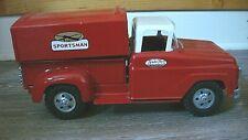 Vintage Tonka Toy Sportsman Truck Toy 1950s Pressed Steel Red Pickup