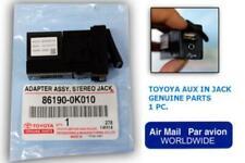 2005-15 Toyota Hilux Sr5 wokemate Mk7 Fortuner Sw4 Genuine AUX USB In Socket