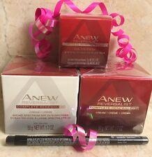 Avon Anew Reversalist Day&Night Cream& Eye Cream COMPLETE SET 3+free Liner Black