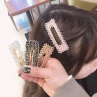 Simple Crystal BB Hair Clips Women Hair Accessory Hairpins SALE