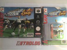 International Superstar Soccer 64 (ISS) > Nintendo 64 (N64) > Complet > PAL FR
