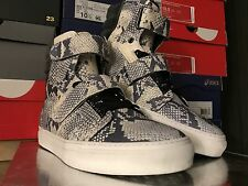 "Android Homme Propulsion Hi - Off White/Blue ""Laser Python"" - Size 11"