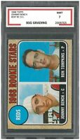 1968 Topps JOHNNY BENCH #247 RC Rookie OC ~ BSG 7