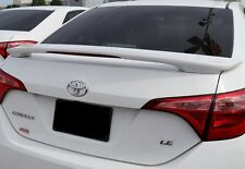 FITS TOYOTA COROLLA PRE-PAINTED Lighted Rear Spoiler Wing 2014-2015-2016-2017